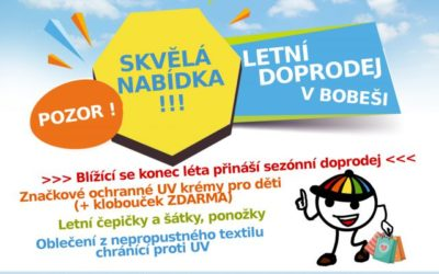Letní doprodej v Bobeši!